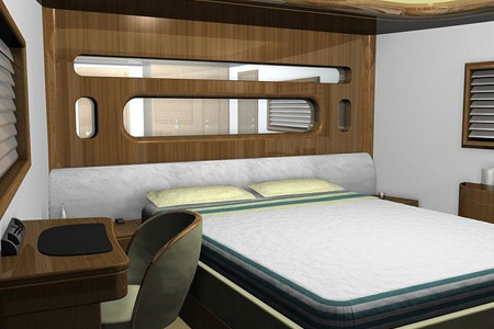 Sleeping Quarters Privacy On Demand Windows The Perfect High Tech Solution For Machines Like Modern Yachts Especially When In Port